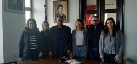 Ενημερωτική συνάντηση του Δημάρχου Ζαγοράς - Μουρεσίου κ. Π. Κουτσάφτη με εκπροσώπους της 1ης Κινητής μονάδος για την ψυχική Υγεία Ν. Μαγνησίας