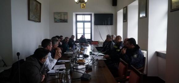Πρακτικό Συνεδρίασης του Τοπικού Συντονιστικού Οργάνου Πολιτικής Προστασίας Δήμου Ζαγοράς-Μουρεσίου