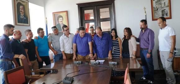Ανέλαβαν καθήκοντα έντεκα μόνιμοι υπάλληλοι στον Δήμο Ζαγοράς - Μουρεσίου