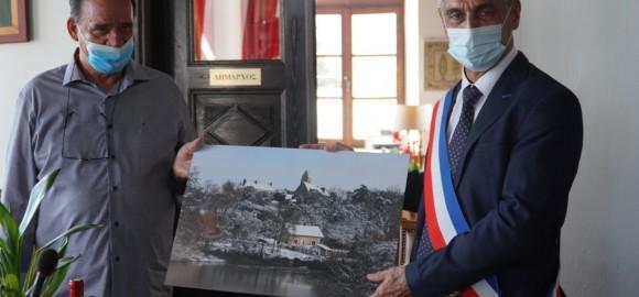 Αναθέρμαναν  τους στενούς δεσμούς 32 ετών οι αδελφοποιημένοι Δήμοι  Ζαγοράς - Μουρεσίου και Juigne (Γαλλία)