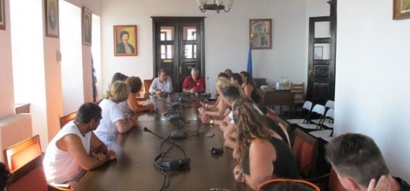 Επίσκεψη του Λυκείου Ελληνίδων Σάμου στο Δήμο Ζαγοράς Μουρεσίου