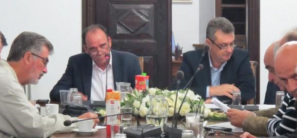 Στιγμιότυπα από την συνεδρίαση του Δ.Σ. της ΠΕΔ Θεσσαλίας στον Δήμο Ζαγοράς Μουρεσίου