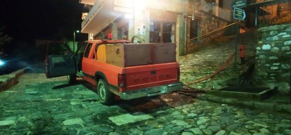 Άμεση αντιμετώπιση πυρκαγιών σε Κισσό και Τσαγκαράδα - Αναγκαία η διαρκής λειτουργία του  Πυροσβεστικού κλιμακίου