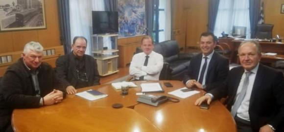Επαφές του Δημάρχου Ζαγοράς - Μουρεσίου στην Αθήνα με τα Υπουργεία Εσωτερικών και Υποδομών - Μεταφορών